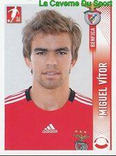 048 MIGUEL VITOR PORTUGAL SL.BENFICA Leicester City STICKER FUTEBOL 2009 PANINI