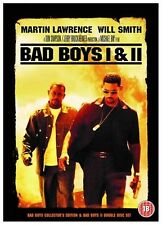 BAD BOYS Complete Collection Part 1+2 DVD Will Smith Both Films Movie New Sealed