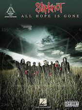 SLIPKNOT ALL HOPE IS GONE GUITAR TAB SONG BOOK NEW