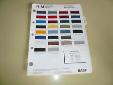 1989 Ford Truck Exterior R-M Color Chip Paint Sample -