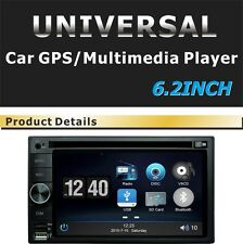 6.2'' inch Car Stereo Radio DVD Navigation GPS Bluetooth USB/SD Universal Player