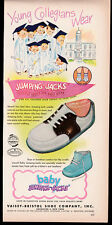 1950 Jumping Jacks part-pg clipping ad - Children's shoes