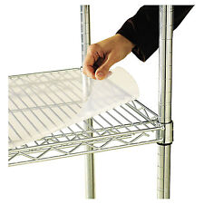 Alera Shelf Liners For Wire Shelving Clear Plastic 48w x 18d 4/Pack SW59SL4818