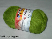 (9,60€/100gr) 50 gr REGIA Sock yarn 6-ply ACTIVE - with Temperature control