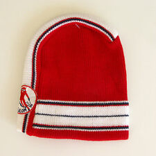 Bonnet de Ski Vintage - Authentique - Slalom  Rouge - Made in France - Enfant