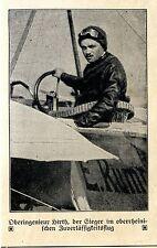 Alte Adler: Wolf Hirth Sieger im oberrheinischen Zuverlässigkeitsflug 1912