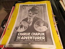 """Charlie Chaplin ,  Poster ,16"""" X 24"""" , Vintage , Contemp Products Corp . , 1971"""