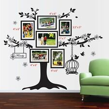 Huge photo frame Wall Stickers Mural Decal Paper Art Decoration