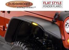 Bushwacker 10053-07 Front Flat Style Fender Flares for Jeep Wrangler JK
