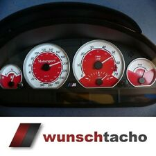 speedometer speedometer dial for BMW E46 Petrol Red 310 Kmh M3.top