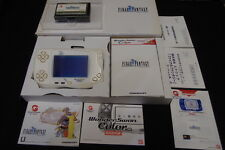 BANDAI WONDERSWAN COLOR FINAL FANFANTASY  EDITION BOXED USED JAPAN!!!