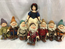 R JOHN WRIGHT SNOW WHITE AND THE SEVEN DWARFS SET W/ PICK AXES ONLY 50 MADE