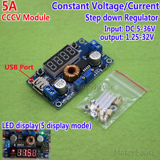 LED Display 5A DC-DC Buck Converter Step Down Module Constant Voltage Current