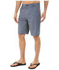 "Hurley Men's Phantom Boardwalk 21"" Boardshorts Shorts   Obsidian Blue/Gray  31"