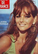 jours de france 717 septembre 1968 - claudia cardinale en couverture -