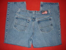 Mens Ralph Lauren Polo Banner Loose Fit Blue Jeans sz 34 X 30
