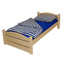 Bett Doppelbett Thorsten 140 x 200 cm,Kiefer Natur Lackiert