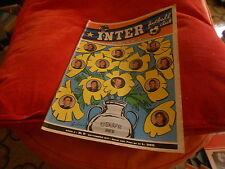 CALCIO  RIVISTA    INTER  FOOTBALL  CLUB     NR  9    SETTEMBRE    1971