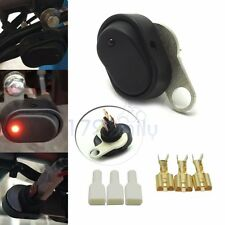 One piece Motorcycle Bike Handlebar Headlight Light Lamp ON-OFF Switch