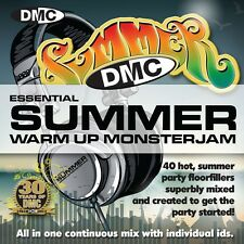 New DMC Warm Up Summer Monsterjam 1 DJ CD June 2013 Release Ivan Santana Megamix
