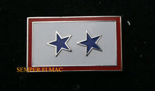 2 TWO BLUE STAR HAT PIN SON DAUGHTER MOM DAD US AIR FORCE ARMY NAVY USCG MARINES