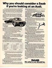 1974 SAAB 99  ~  NICE ORIGINAL PRINT AD