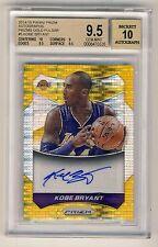 Kobe Bryant 2014-15 Panini Prizm Gold Pulsar Autograph Auto Card 08/10 - BGS 9.5
