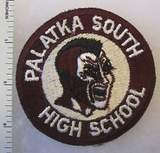 OLDER Vintage Cut Edge US ARMY ROTC INDIAN PATCH PALATKA SOUTH HIGH SCHOOL