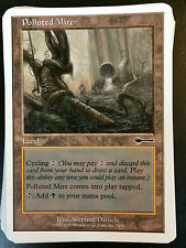 MTG Beatdown Box Set Polluted Mire non-basic land NM Free UK P&P