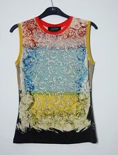 vintage JEAN PAUL GAULTIER printed sleeveless top M