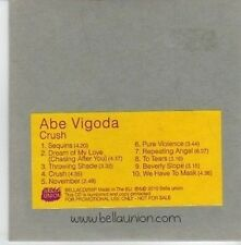 (DA53) Abe Vigoda, Crush - 2010 DJ CD