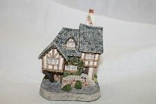 """David Winter Cottages """"Swan Upping Cottage"""" Collector Guild 1992 Retired"""