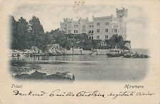 B79444 triest miramare italy  front/back image