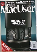MacUser Magazine INSIDE The MAC PRO OmniOutliner iOS Game CONTROLLERS Print UK