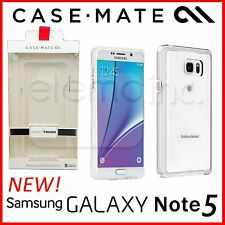 CASE-MATE Naked Tough Clear Case Bumper Cover for Samsung Galaxy Note 5 - NEW