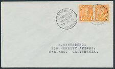 1930 Victoria (BC) Paquebot CDS on Cover