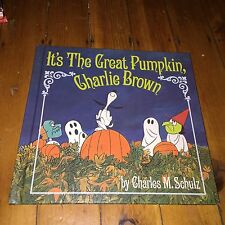 It's the Great Pumpkin Charlie Brown Charles Schulz Minty First Edition Like New