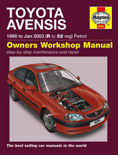 HAYNES TOYOTA AVENSIS 98-03 R TO 52 REG PETROL OWNERS WORK SHOP MANUAL