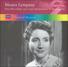 Moura Lympany # plays Rachmaninov &  Khachaturian 1951-52 (Decca) 2 CD Set