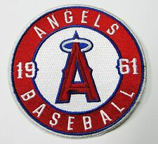 "LOT OF (1) 1961 LOS ANGELES ANGELS BASEBALL PATCH  PATCHES (3 1/2"" ROUND) # 53"