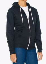 American Apparel Zip Hoodie Sweatshirt * Flex Fleece F497  XS *MSRP $48 *40% Off