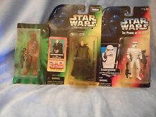 STAR WARS PKGE OF 3 JEDI QUEST HASBRO KENNER POWER OF THE FORCE EXPANED UNVRSE