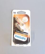 PHILIPS VISIONE SV8,5 12V 10W C10W Festone T10,5x43 12866B2 (COPPIA)
