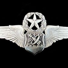 NASA U.S. AIR FORCE  MASTER ASTRONAUT NAVIGATOR WINGS BADGE FOR SPACE MISSION