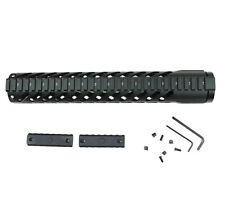 "12"" Handguard (KM03) Keymod Free Float Hand guard Key Mod Steel Barrel Nut"