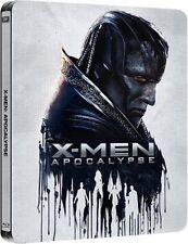 X-MEN: APOCALYPSE APOCALIPSIS 3D+2D BLU-RAY STEELBOOK EDICIÓN METÁLICA, ESPAÑA