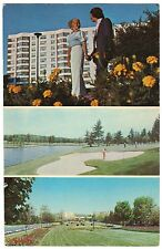 Concord Hotel, Kiamesha Lake, NY Sports Resort, Golf, chrome postcard