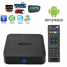 TV BOX MXQ DTT SMART ANDROID INTERNET TV FULLHD WIFI 4XCPU 4XGPU MEDIA PLAYER