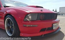 FRONT SPLITTER 2005-2009 MUSTANG GT, C/Ss &Shelby GTs w/ 2 support rods