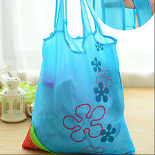 New Folding Shopping Travel Bag Pouch Tote Handbag Strawberry Reusable Eco Bags